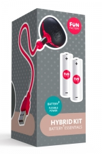 Hybrid Kit Fun Factory Battery plus - Avec l'hybrid Kit, transformez votre sextoy Battery + en vibromasseur rechargeable.